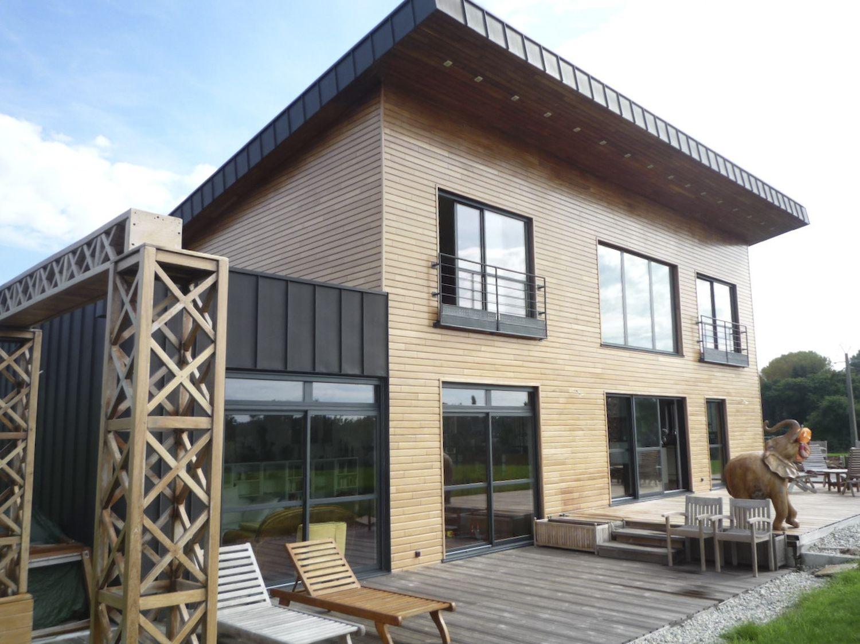 Construction-Maison-Monopente-en-bois-à-Plescop-Architecte-Vannes-1