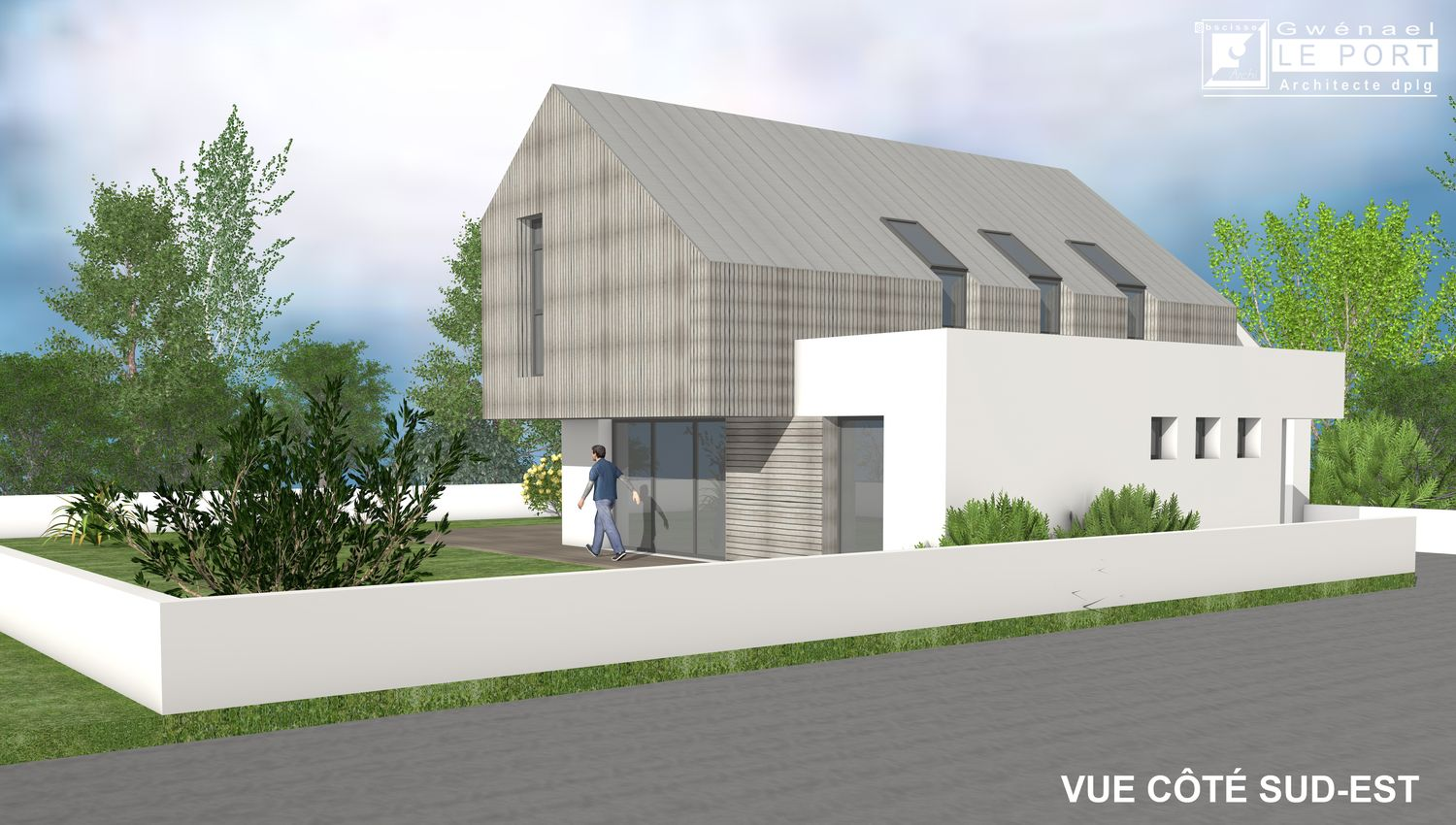 Maison-contemporaine-en-toiture-zinc-Architecte-Vannes-6
