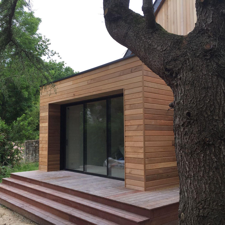 Devis Extension Maison  Eaubonne → Agrandissement Bois, Acier, Parpaing