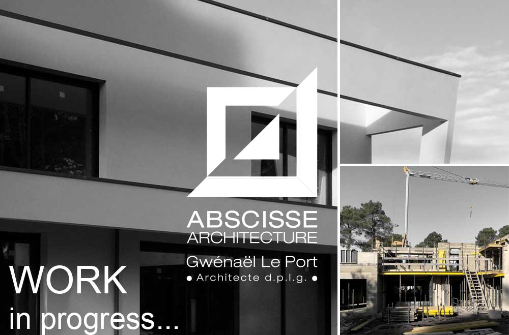 WORK in progress… ABSCISSE ARCHITECTURE